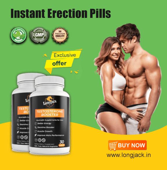 instant erection pills
